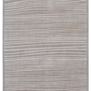 TAPETE MELINA IN TAUPE/WHITE